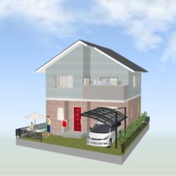 新築戸建 グロースタウン日下町  X号地(全3区画)80㎡自由設計
